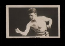Boxing trade cards  famous boxers Arthur Wyns  #696